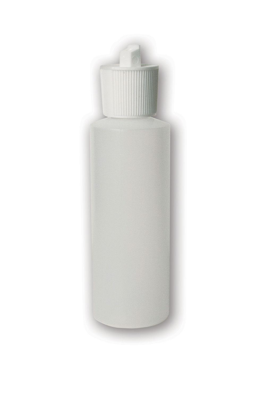 4 oz Translucent#Squeezable Bottle#(plastic w/spout cap)#Item ACC2122
