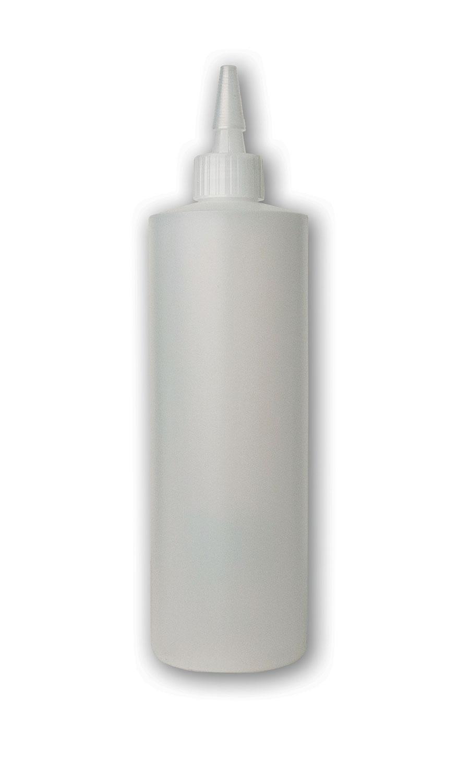 16 oz Translucent#Squeezable Yorker Bottle#(plastic w/spout cap)#Item ACC2004