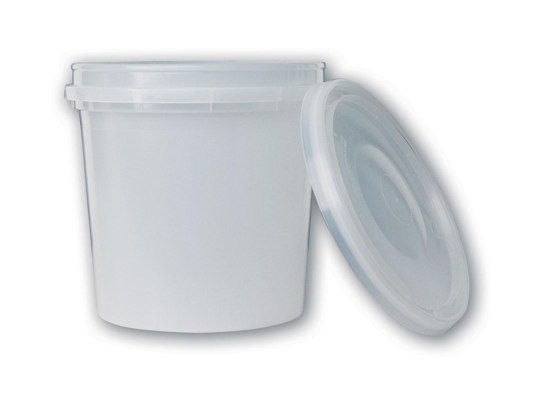 1 qt Translucent Tub#(plastic w/lid)#Item ACC2118