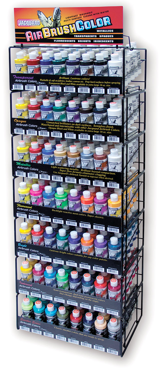 Airbrush Color Rack