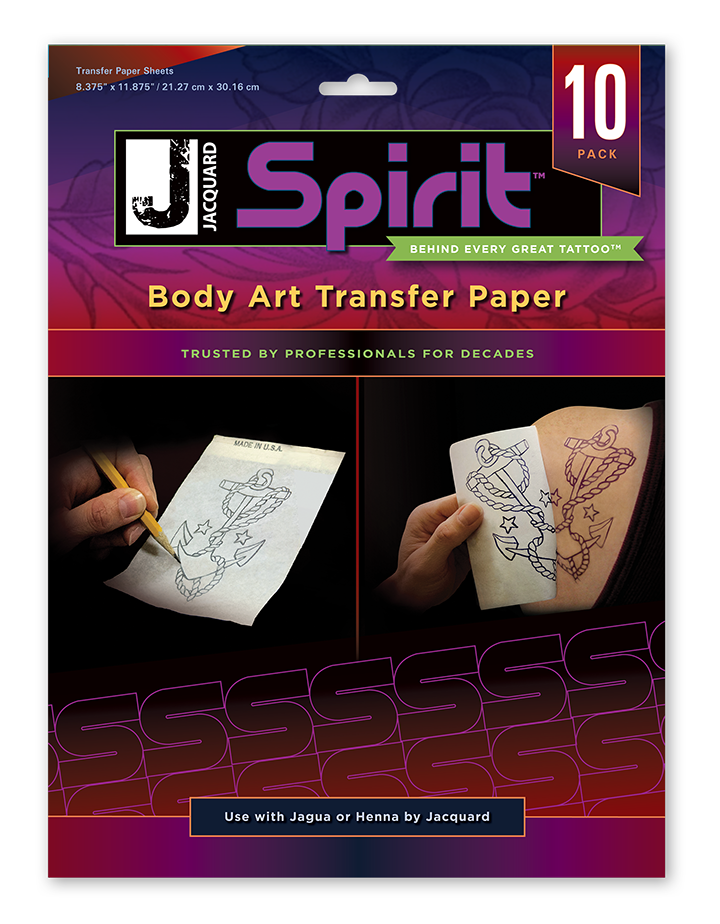 Jacquard Products Jacquard Products Body Art Transfer Paper