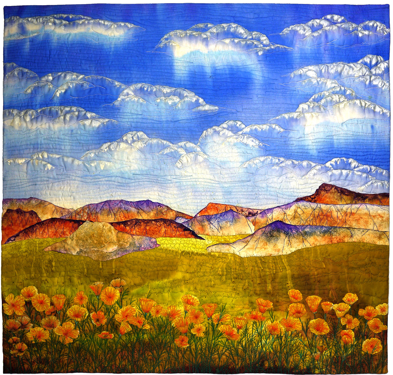 """Cal Poppies"" by Betty Busby - bbusbyarts.com"