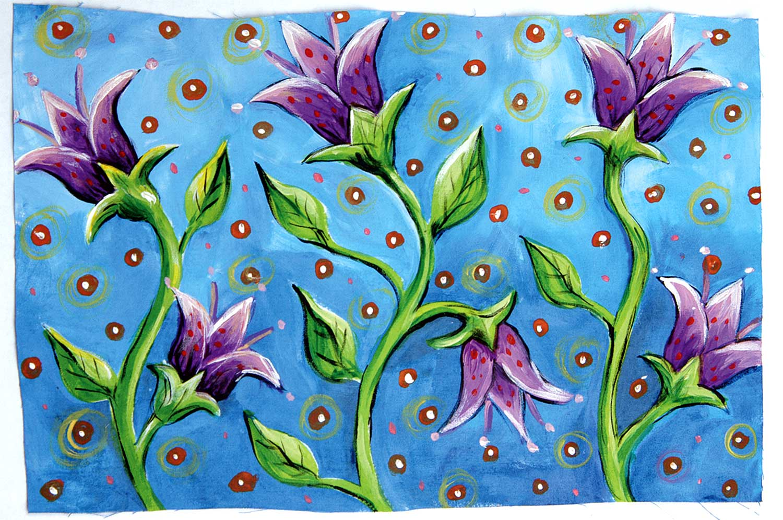 """""""Lotus"""" by Sue Stover @susanstoverart"""