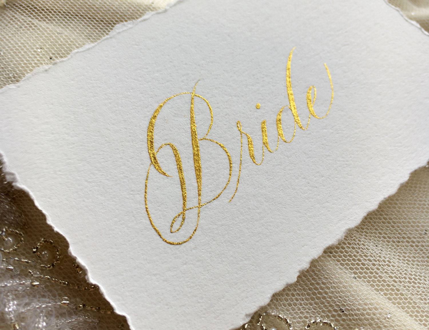 Pearl Ex calligraphy by Joi Hunt - bienfaitcalligraphy.com