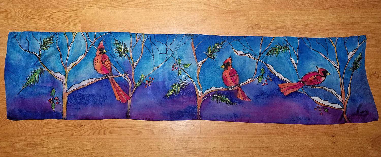 """Cardinals"" by Tanya Alexander @artbytanyaalexander"
