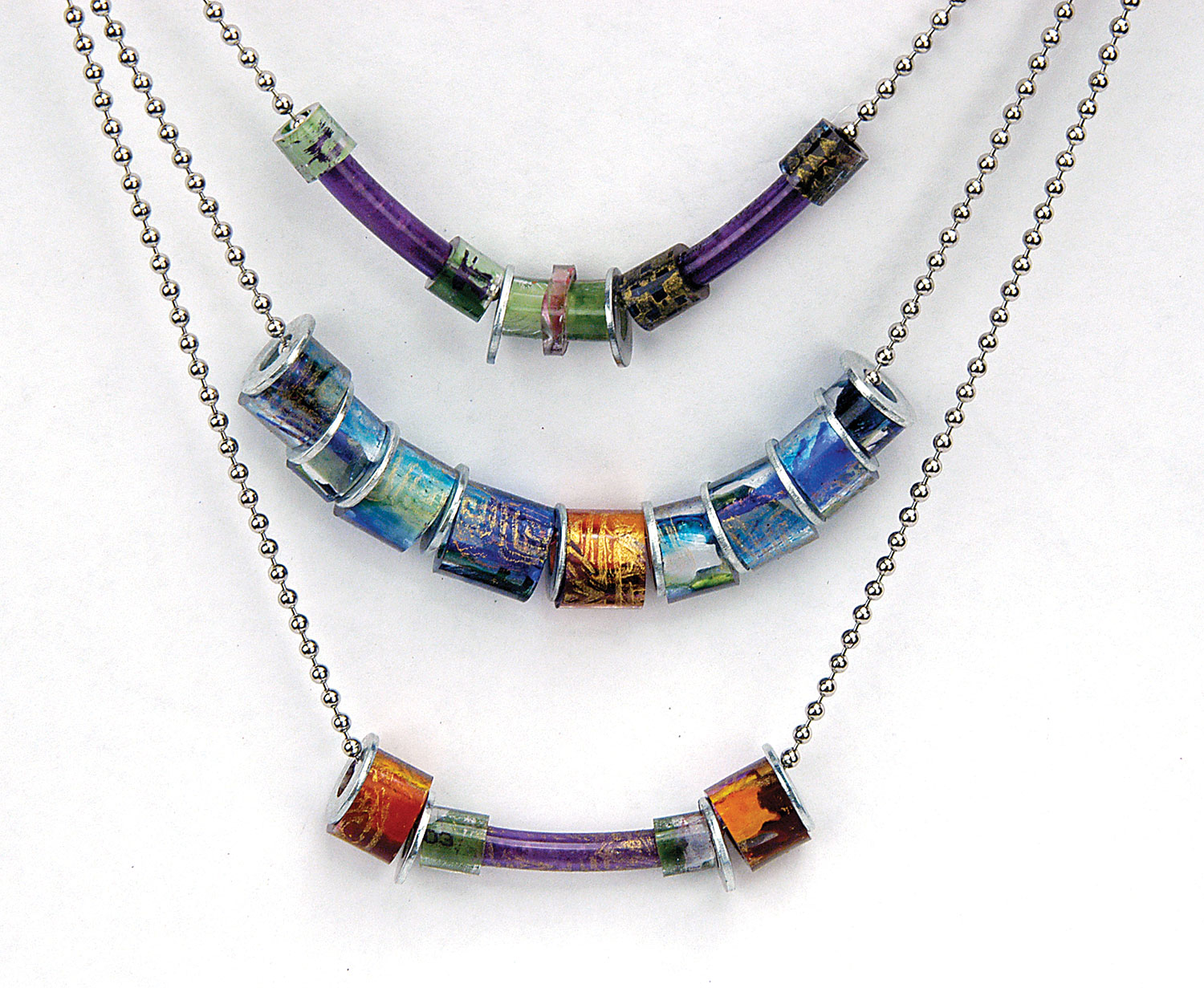 Piñata necklaces