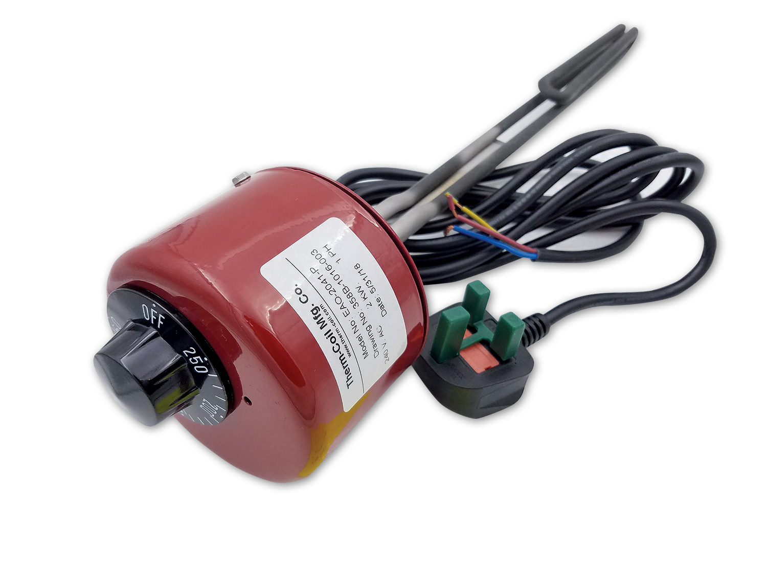 Element and Cord - 240v  (European)#Item STEAM61