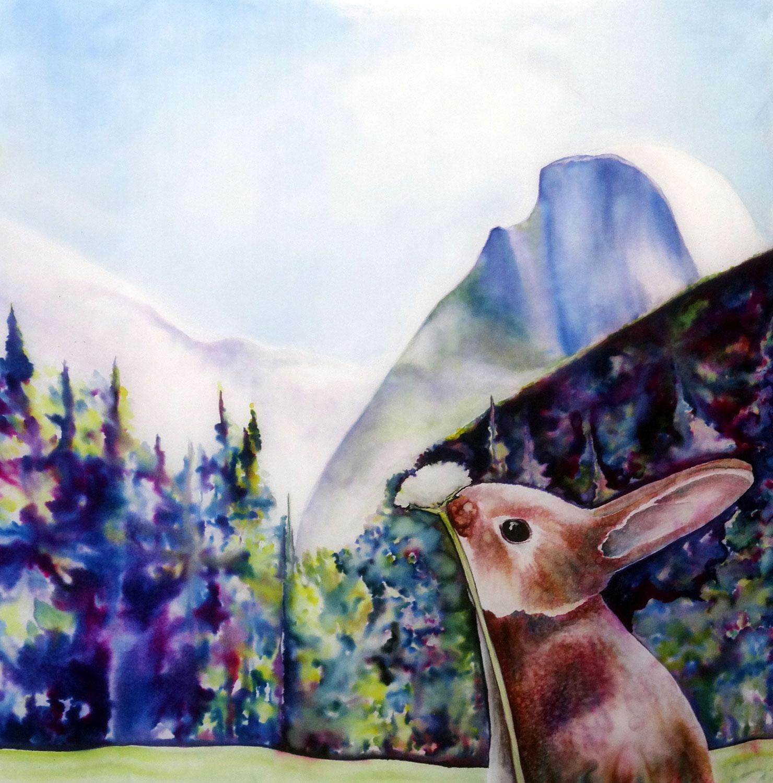 """""""Yosemite Half Dome Easter"""""""