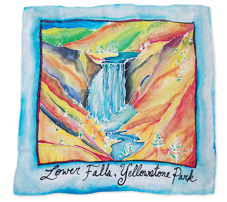"""Lower Falls"" by Tanya Alexander @artbytanyaalexander"