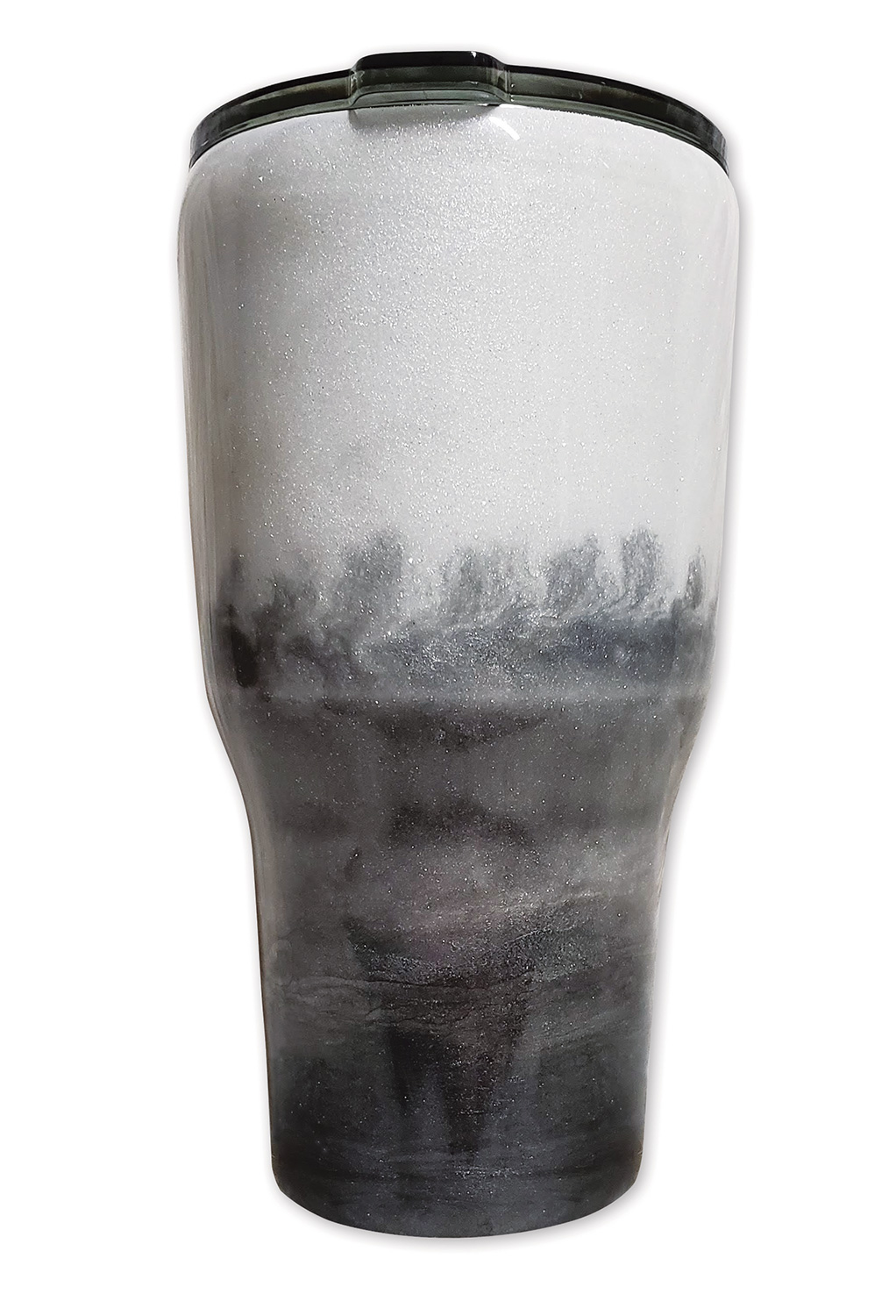 Resin and Pearl Ex tumbler by Carolyn Stowe @ItsMathewsMade