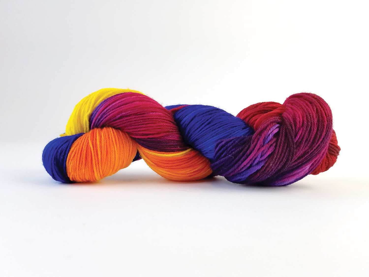 Dyed yarn by Tara Warburton from Makers' Mercantile - wearemakers.com