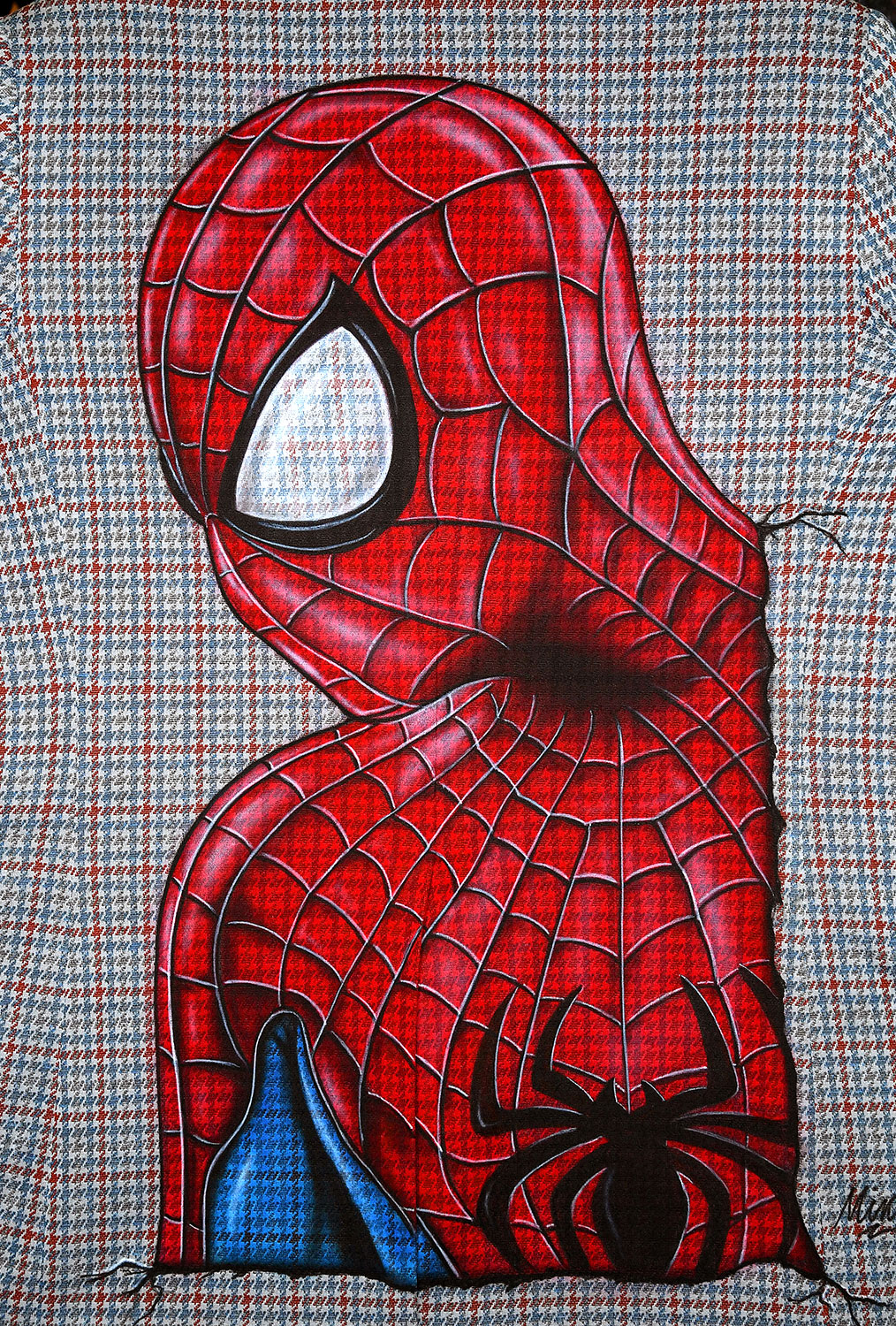 """Spider-Man"" by Richard Mink @jackedupairbrush"
