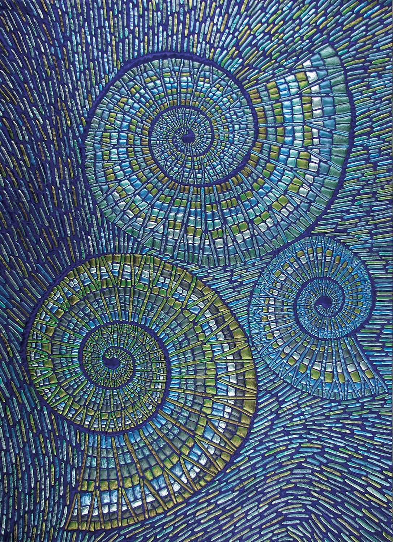 """""""Mosaic Ammonites III"""""""