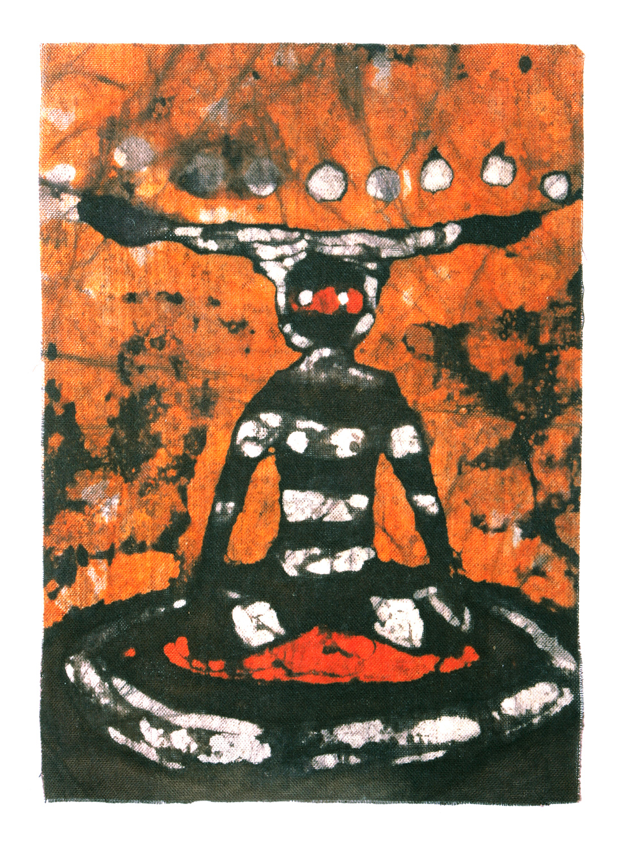 """Kotaix Child, Selknam Spirit of Hain Ceremony"""