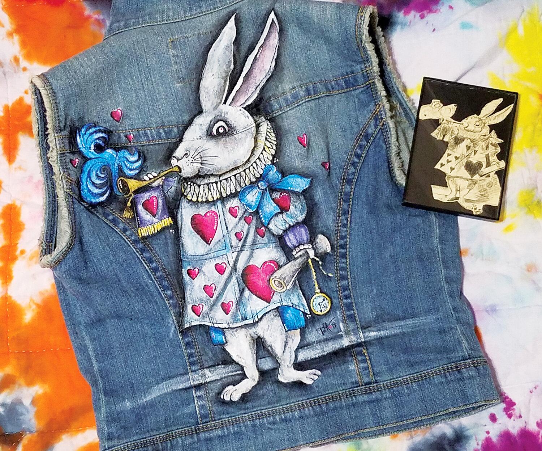 """The White Rabbit"" by Tanya Alexander @artbytanyaalexander"