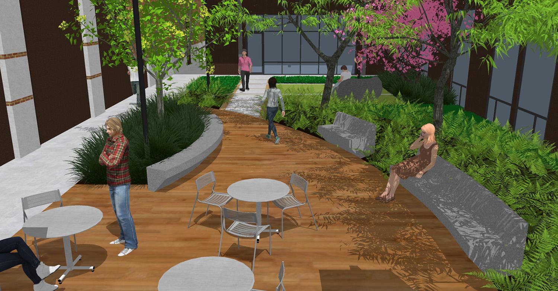Rice University Meditation Garden