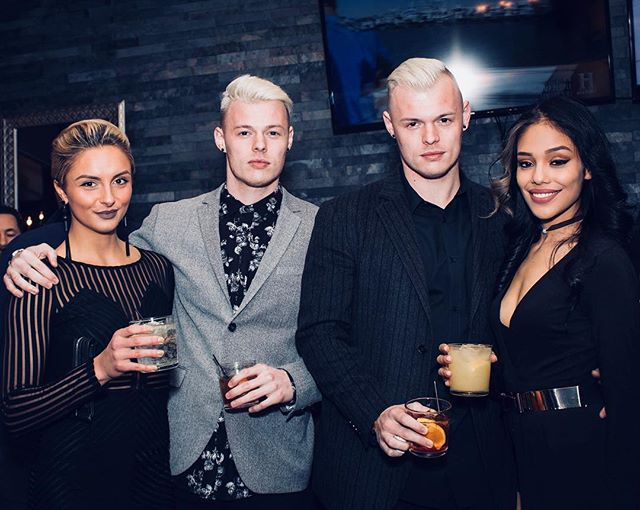 The Targaryen twins and their far better tanning dates spotted at a cocktail party in metropolitan Chicago during a romantic getaway from Westeros circa 2018