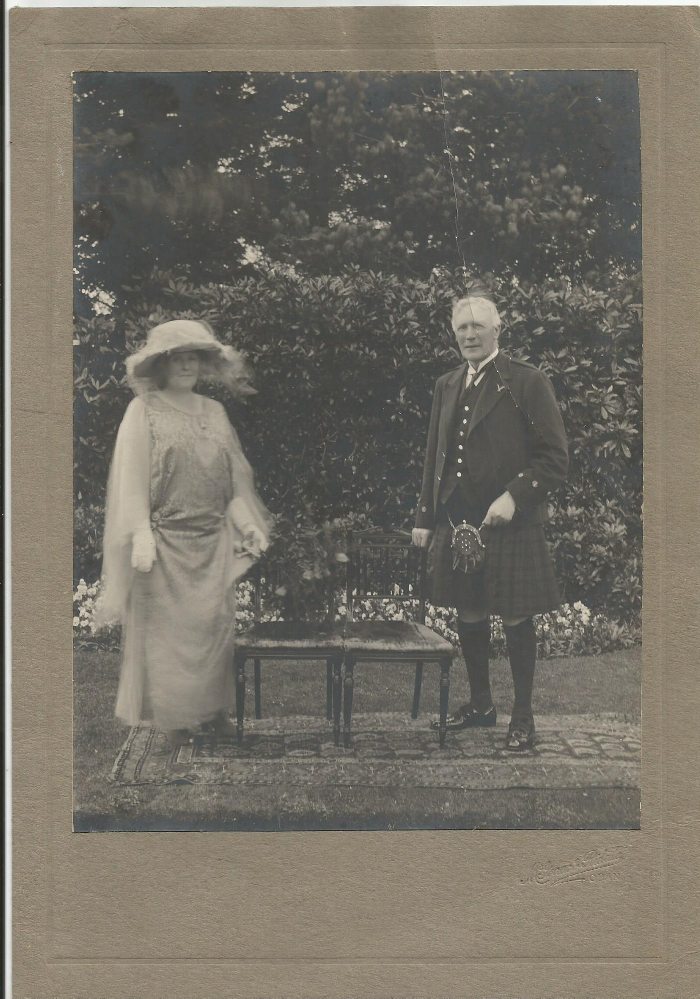 Alexander Mackay and his wife Edith