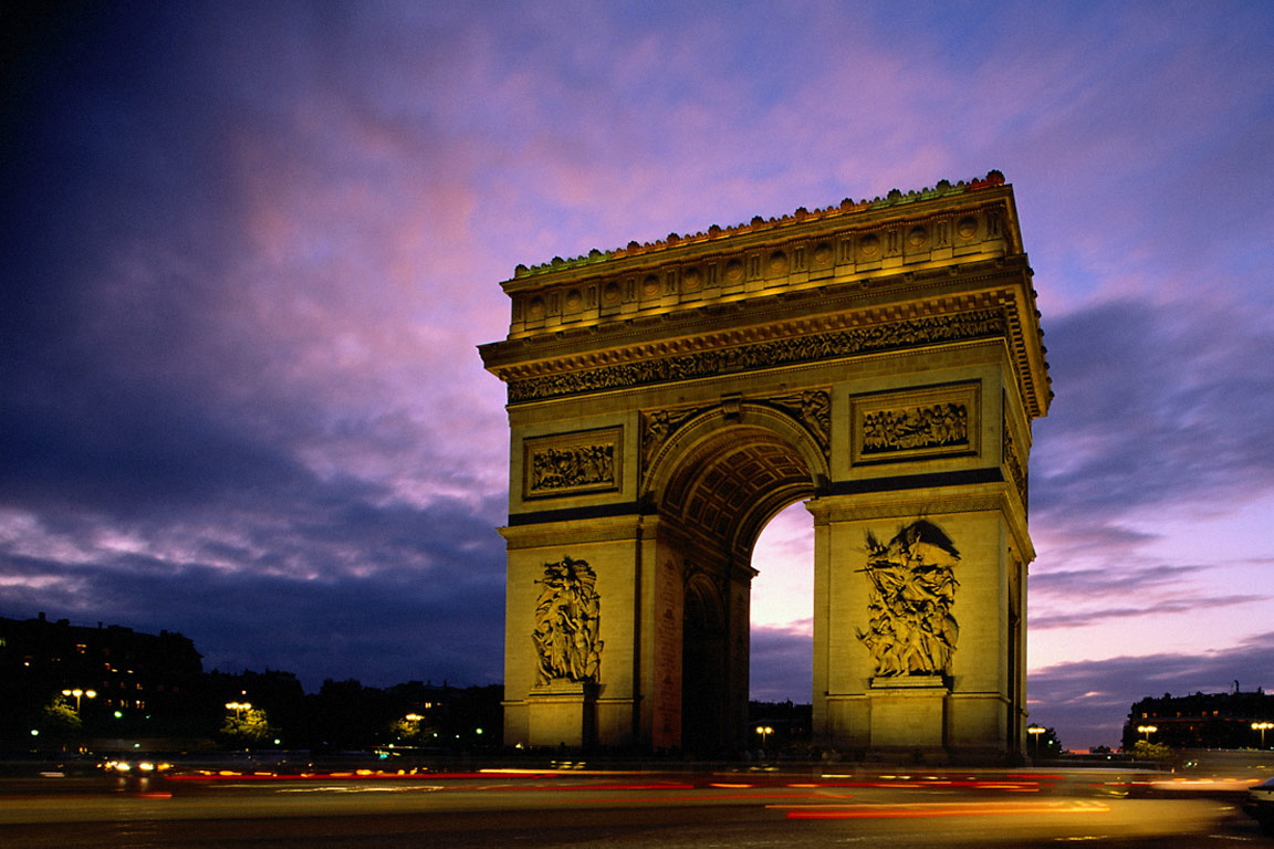Arc_de_Triomphe_at_Evening,_Paris,_France[1] - Copy.jpg
