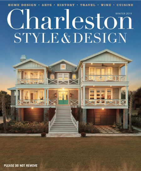 "`Charleston Style + Design's winter 2019 issue / "" A Slice of Heaven """