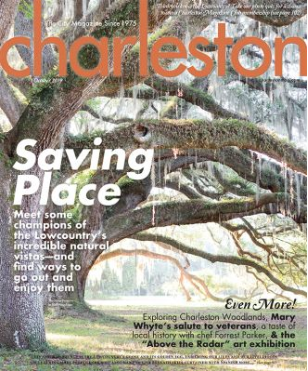 """Charleston magazine 's October 2019 issue /  """"Outside In"""""""