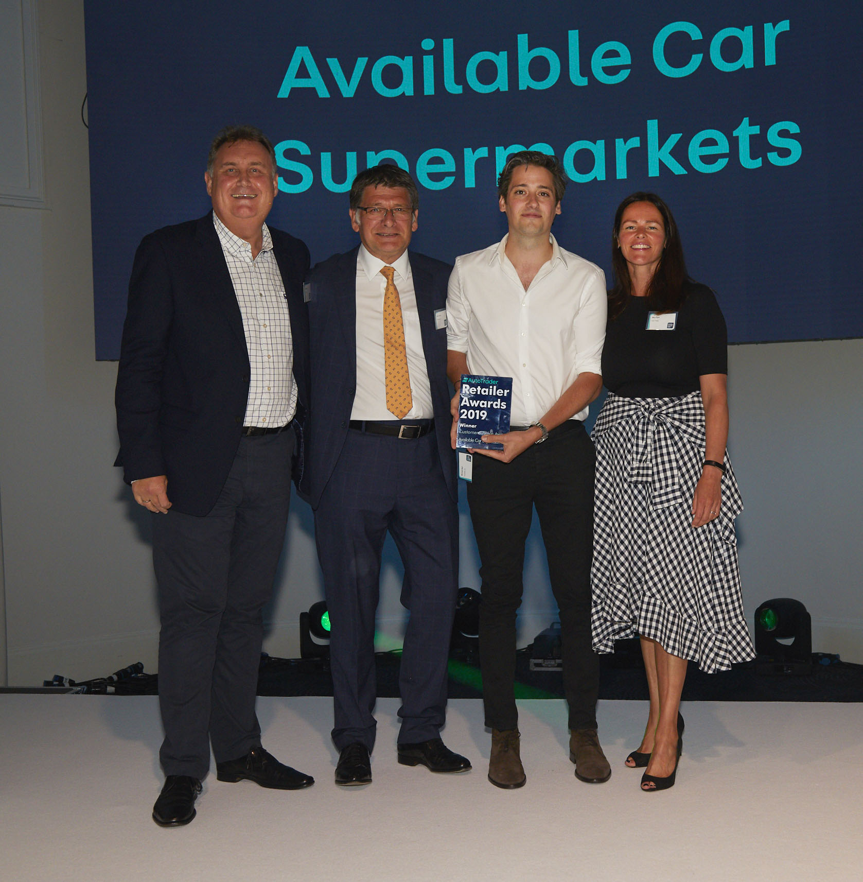 Customer Choice Award (over 100 cars)