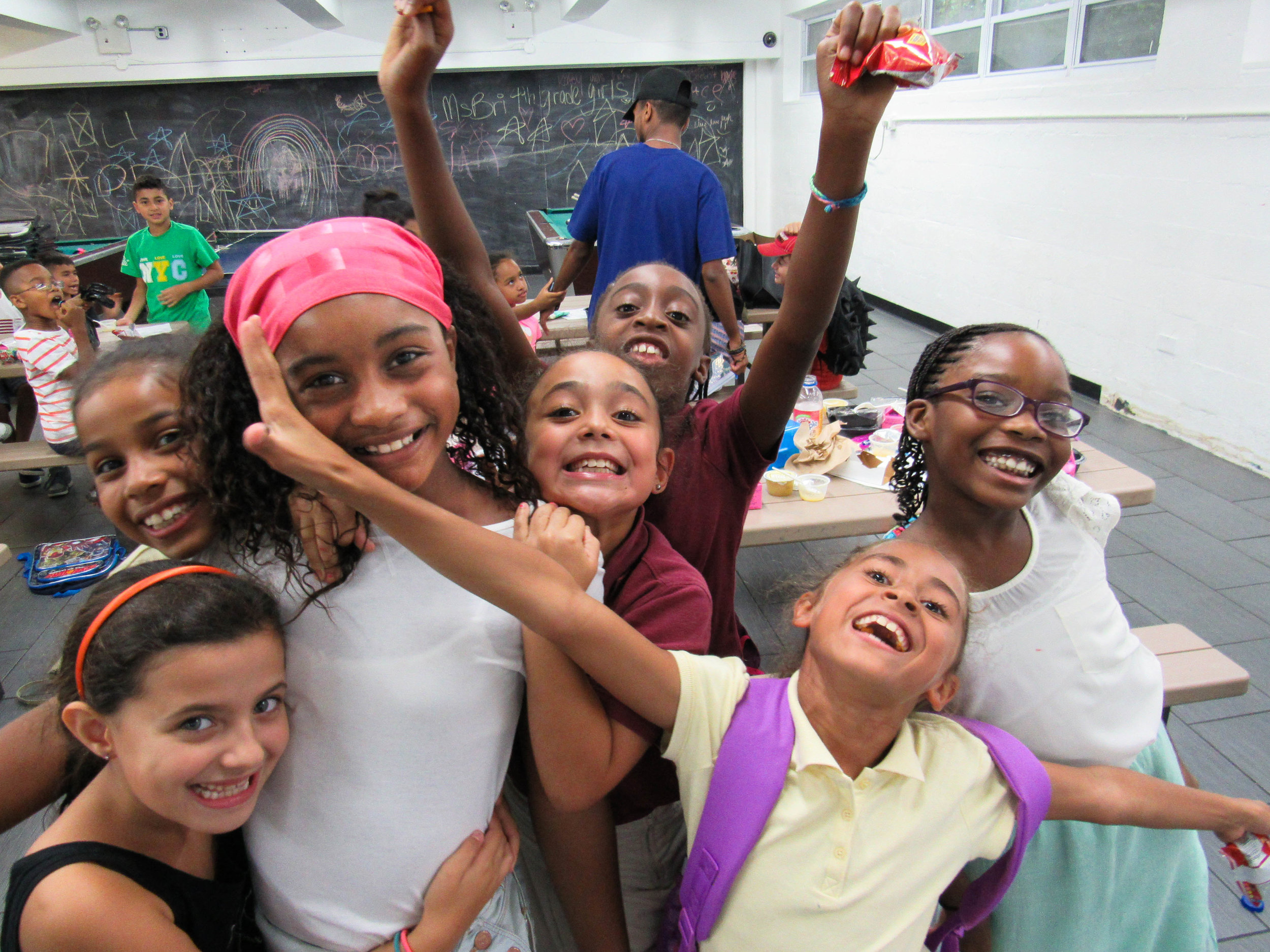 After School Participants at Boys & Girls Club NYC