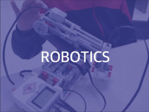 Give your child the chance to explore, build and innovate with our robotics class.