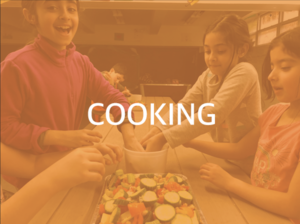 From chopping & mixing to sautéing & baking, our teaching kitchen is the perfect place for your budding chef.