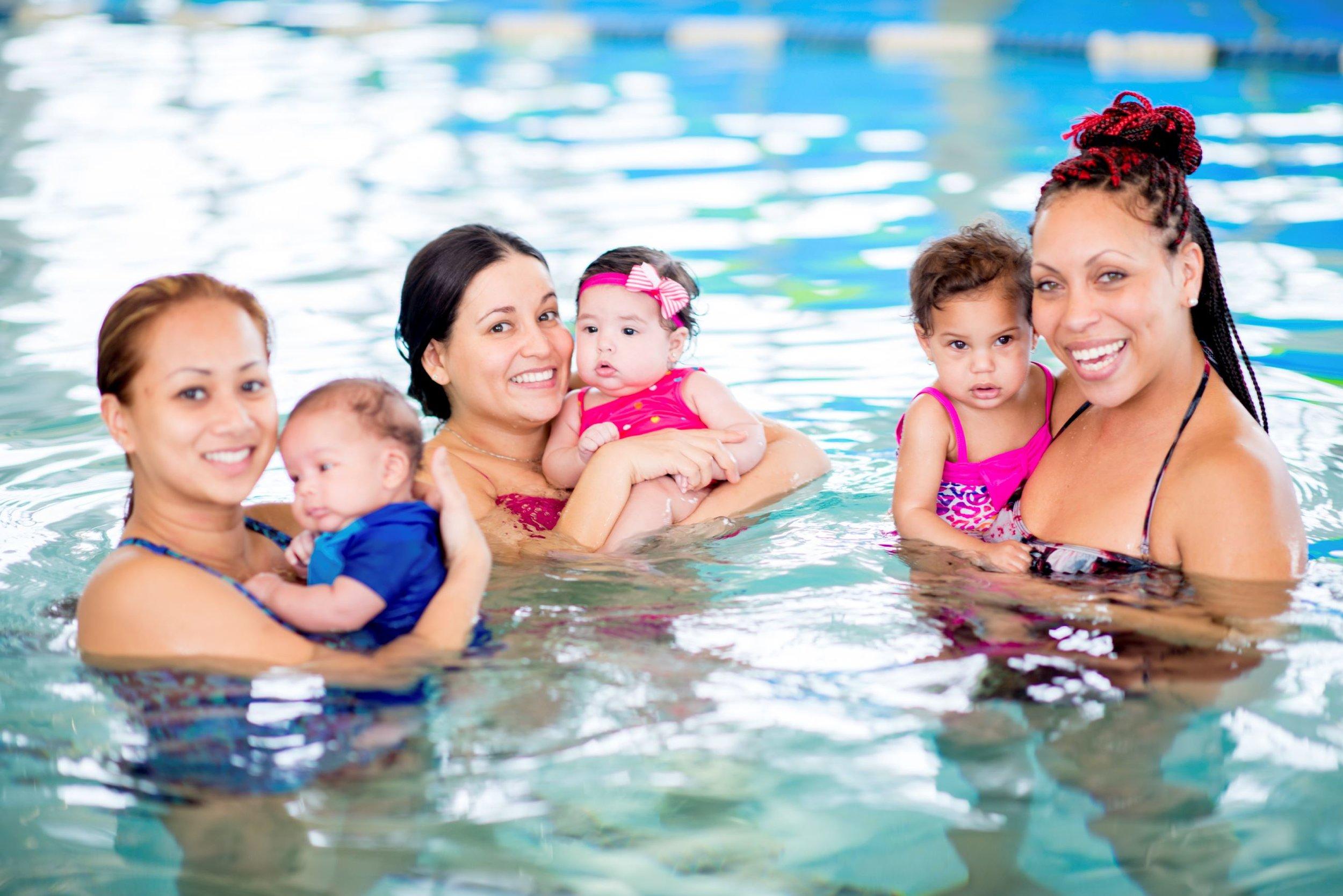 Parent and Me Swim Classes Astoria