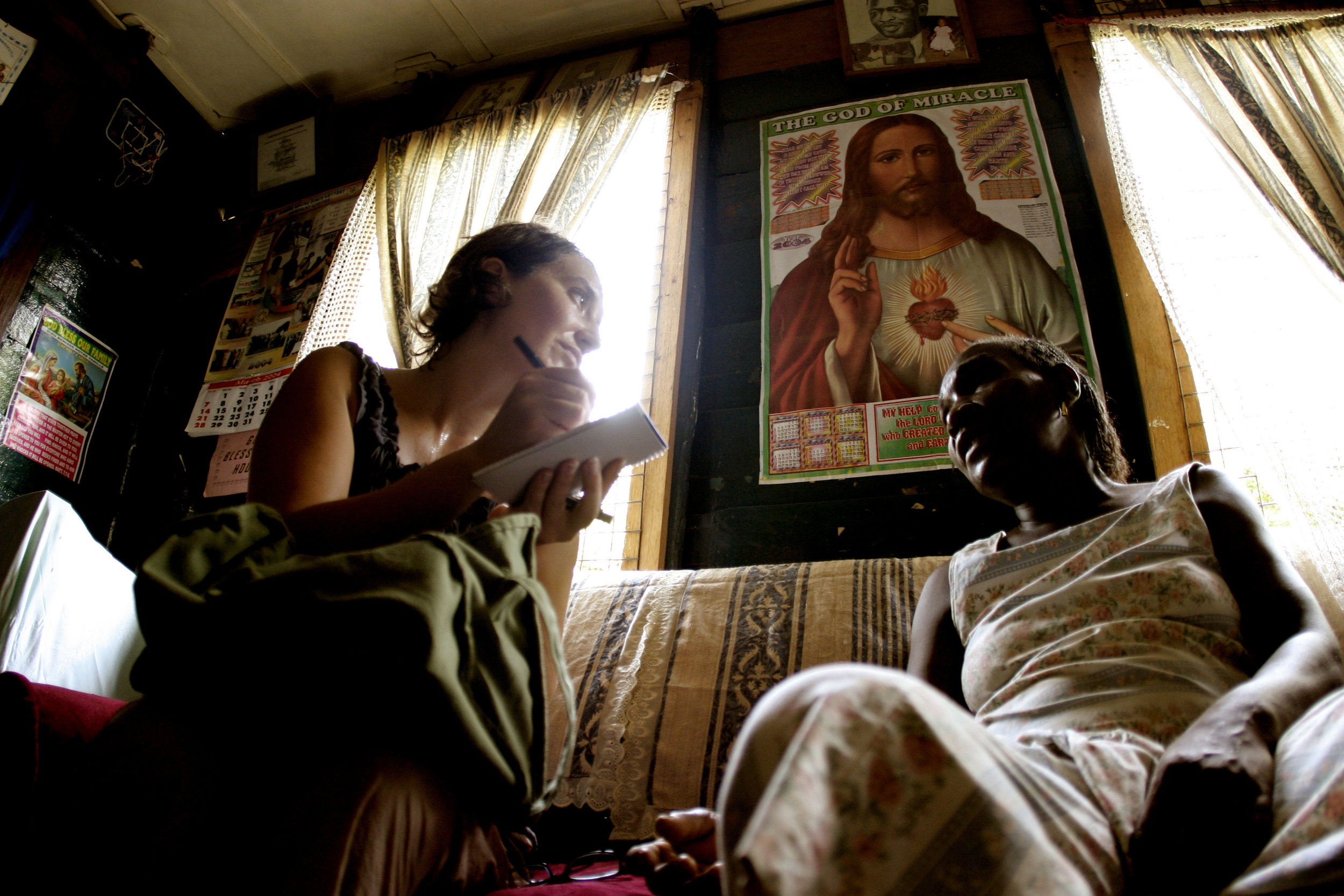 Freetown, Sierra Leone – 2004
