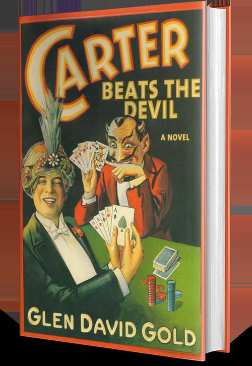 glen david gold, carter beats the devil, book, novel