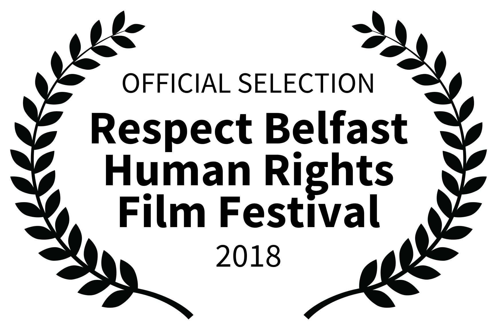 OFFICIAL SELECTION - Respect Belfast Human Rights Film Festival - 2018.png