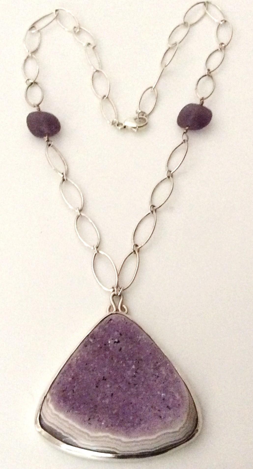 Natural Lavender Druzy