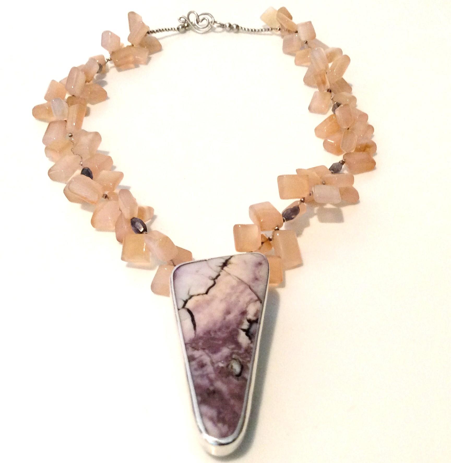 Tiffany Stone Necklace