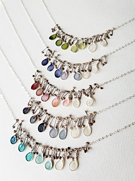 Thicket Necklace, Ombre