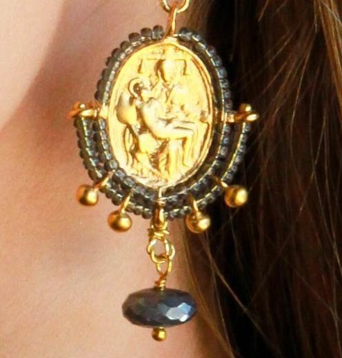 Pieta Earrings