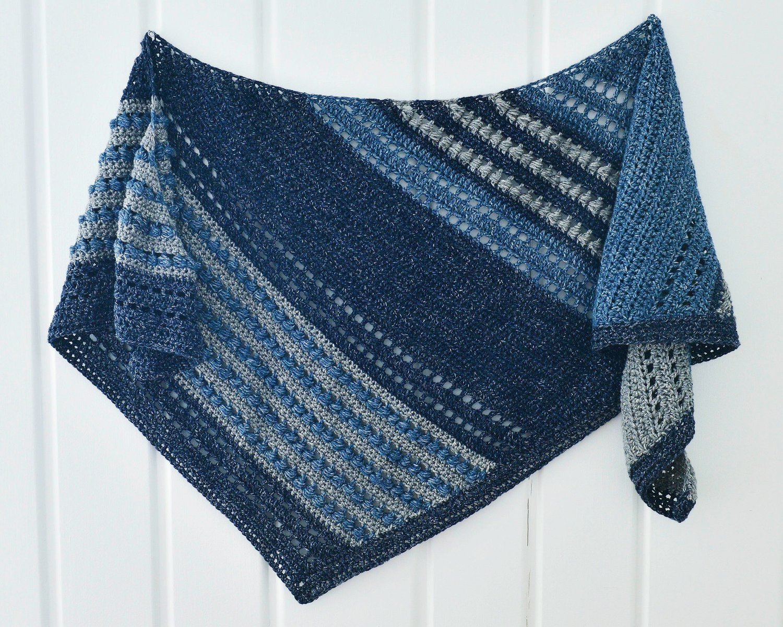 The Great Falls Shawl — Montana Crochet