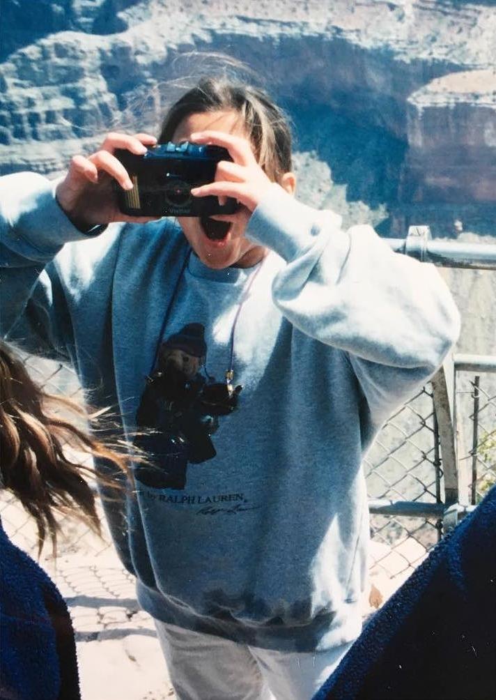Circa 1997 at Grand Canyon National Park.