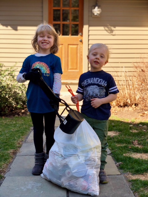 No matter how old you are, there are many ways to volunteer with WEC!   (Pictured: Jane and Owen Light)