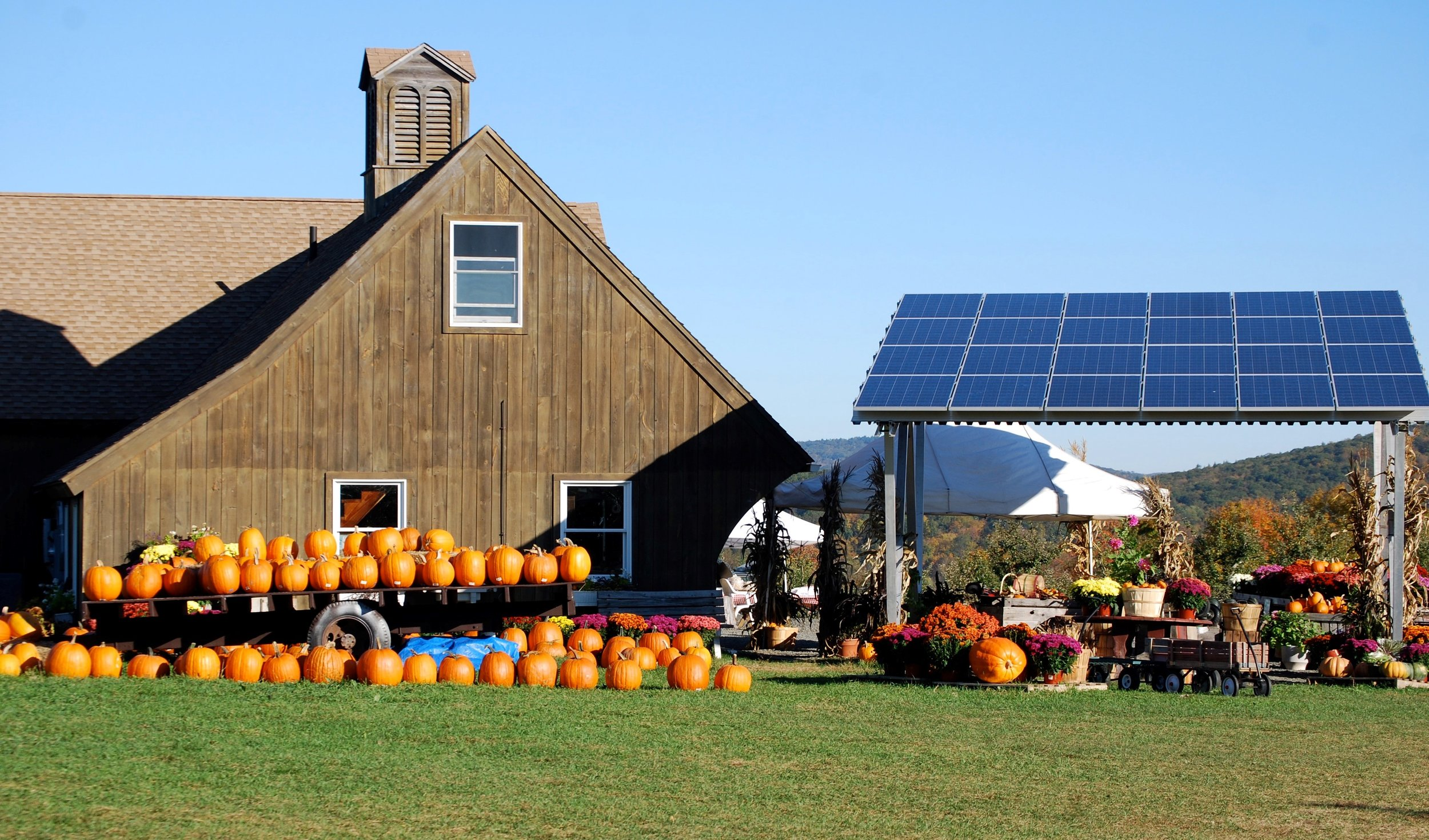 Averill Farm's Solar Panels