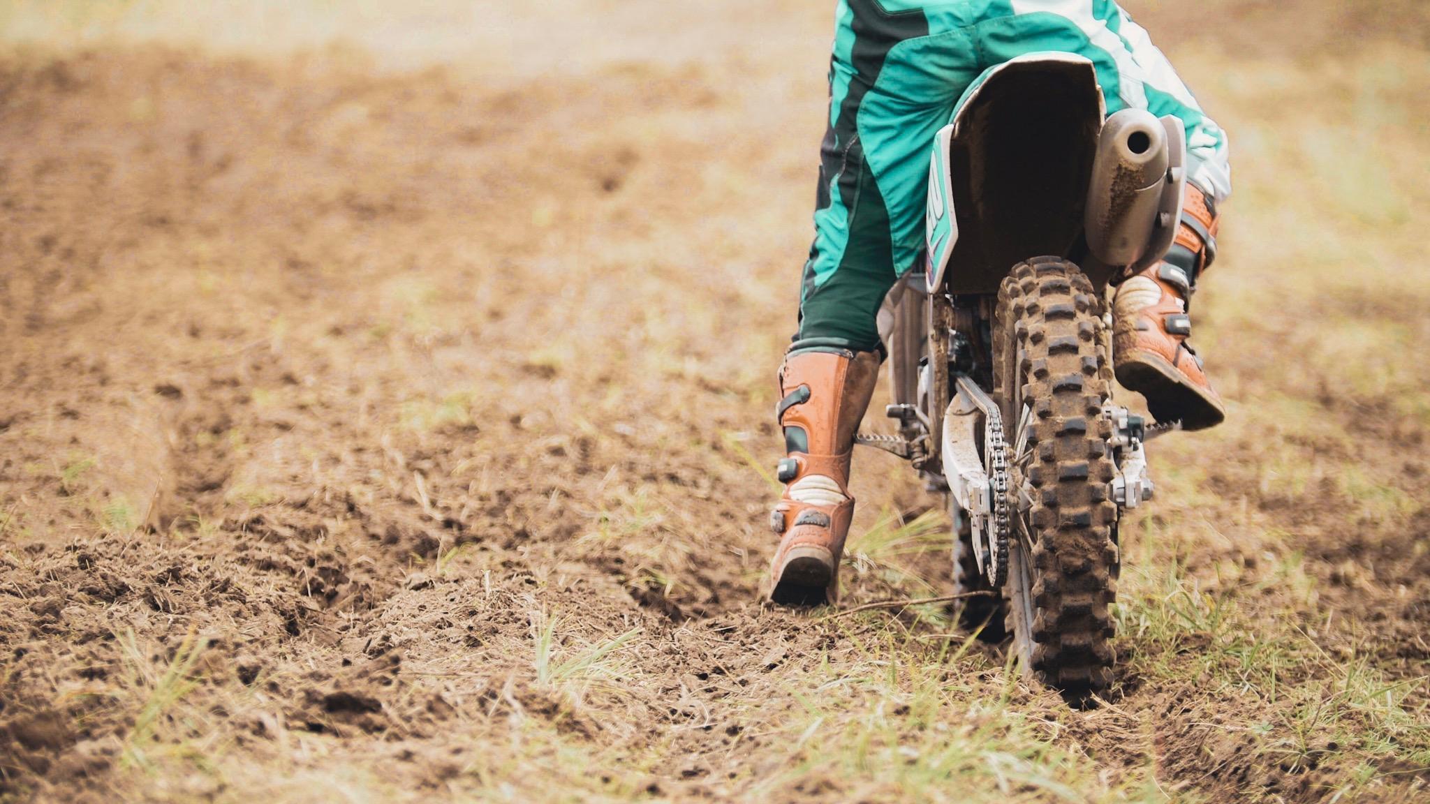 - Riding Dirt Bikes