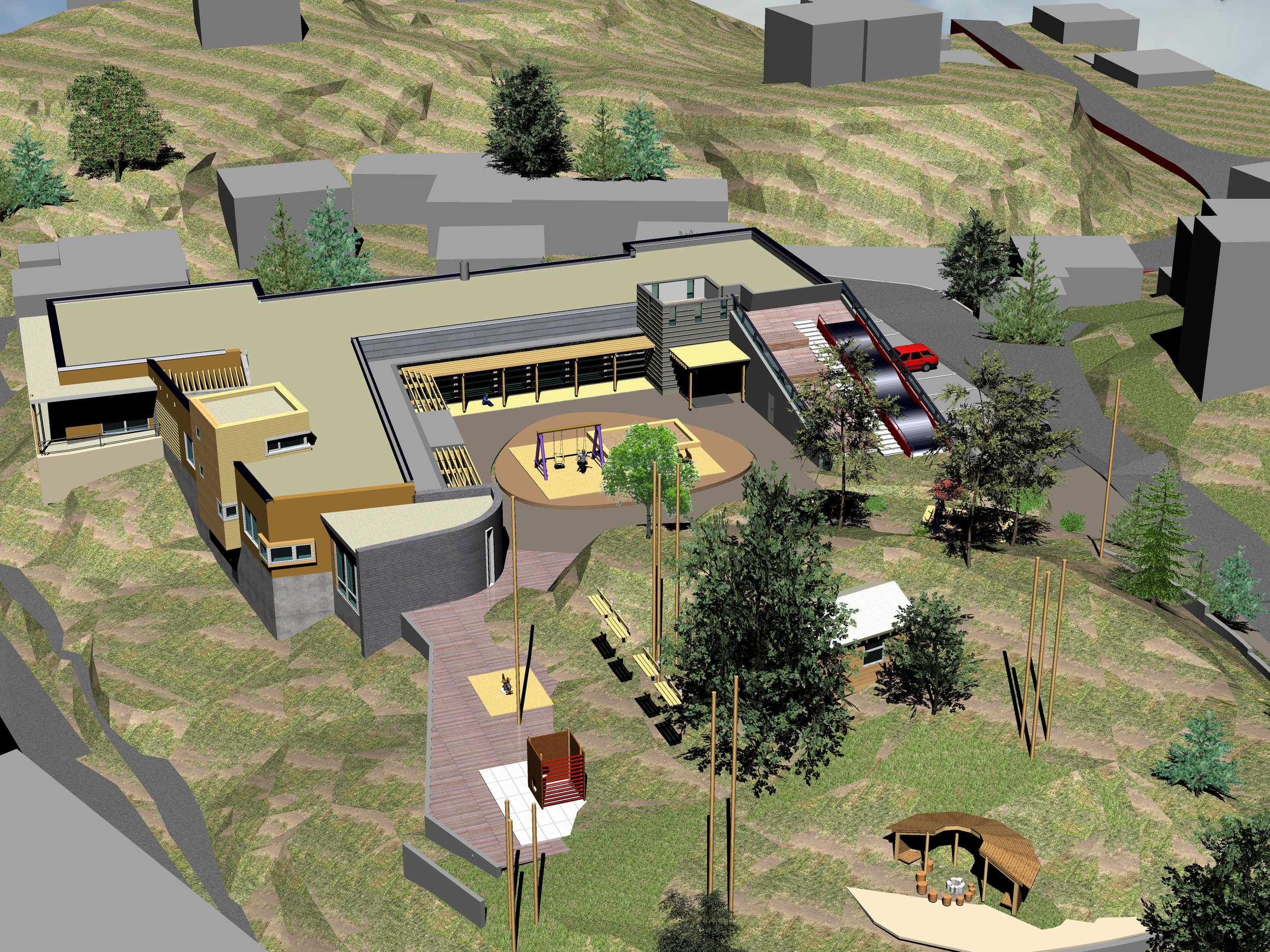 2007_ReArk_Strømsbuåsen bhg_07-131_HT,SBS,KS_MODELLBILDE 01.jpg