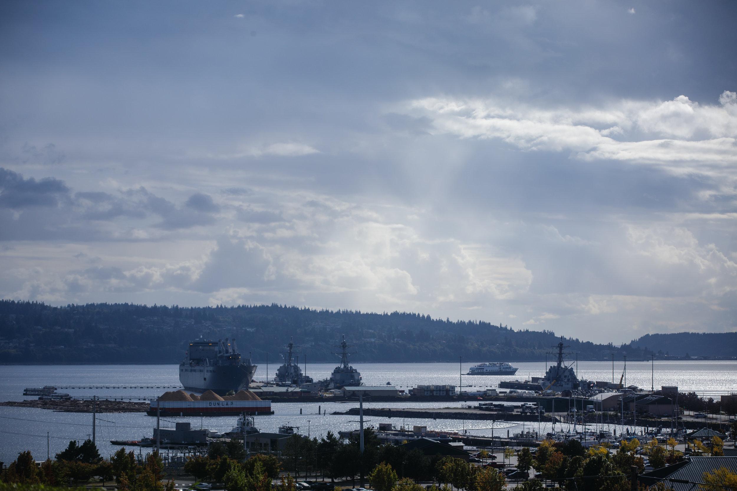 Puget Sound landscape .    CREDIT: LEAH NASH FOR FINDING FIXES »