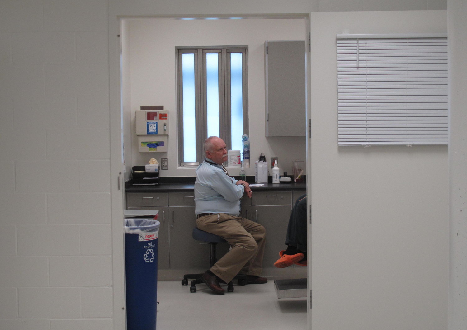 Medical Staff in the Snohomish County Jail.   CREDIT: ANNA BOIKO-WEYRAUCH/FINDING FIXES »