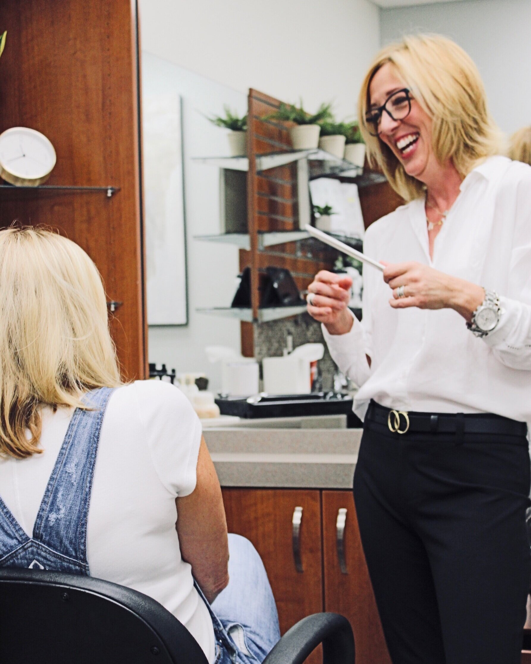 Finding a new hairdresser is like going on a first date… and the consultation is the most important part of getting to know each other.