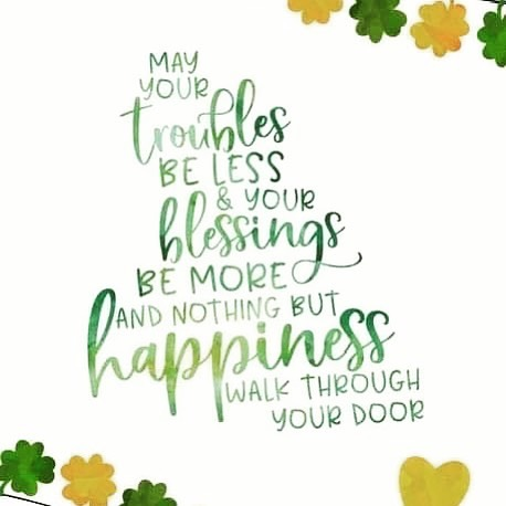 Happy St. Patrick's Day!🍀☘️