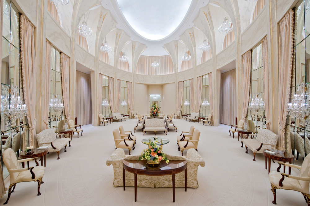 Celestial room of the Washington DC Temple