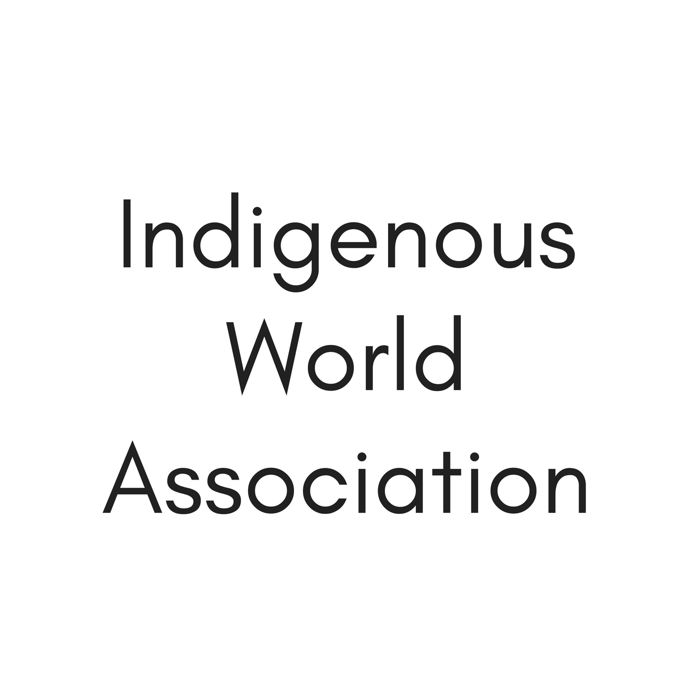 Indigenous World Association