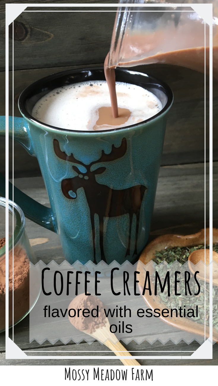 Delicious Homemade Coffee Creamers